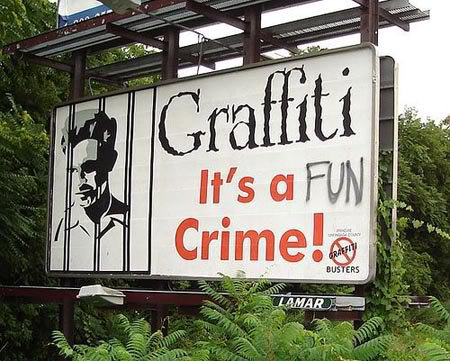 Graffiti Sign FAIL