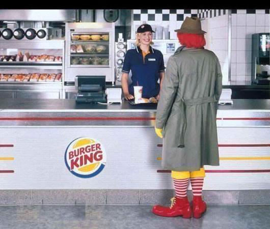 Ronald Goes Astray