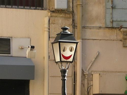 Funny Lamp Post