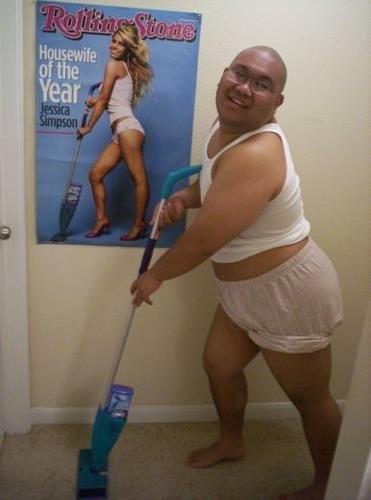 Vacuuming Guy