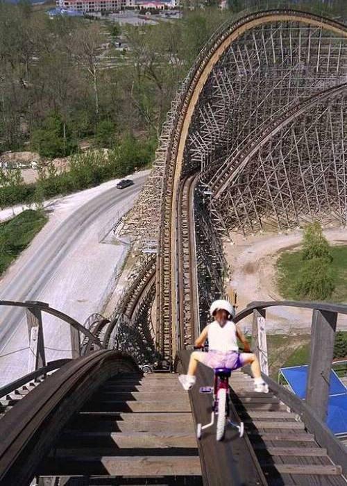 Rollercoaster Bike