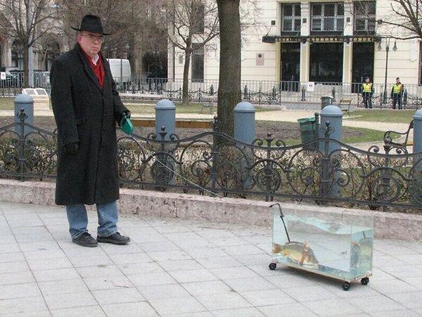 Fish Tank Leash